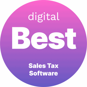 Best Sales Tax Software Badge