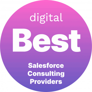 Best Salesforce Consulting Providers Badge