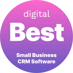 Best Small Business CRM Software Badge