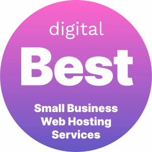 Best Small Business Web Hosting Services Badge