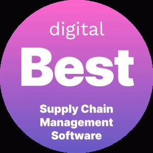 Best Supply Chain Management Software Badge