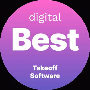 Best Takeoff Software Badge