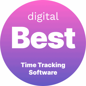 Best Time Tracking Software Badge