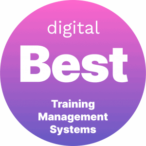 Best Training Management Systems Badge