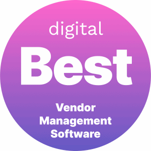 Best Vendor Management Software Badge