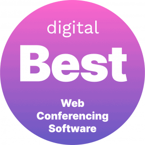 Best Web Conferencing Software Badge