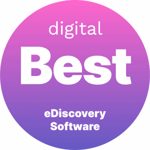 Best eDiscovery Software Badge