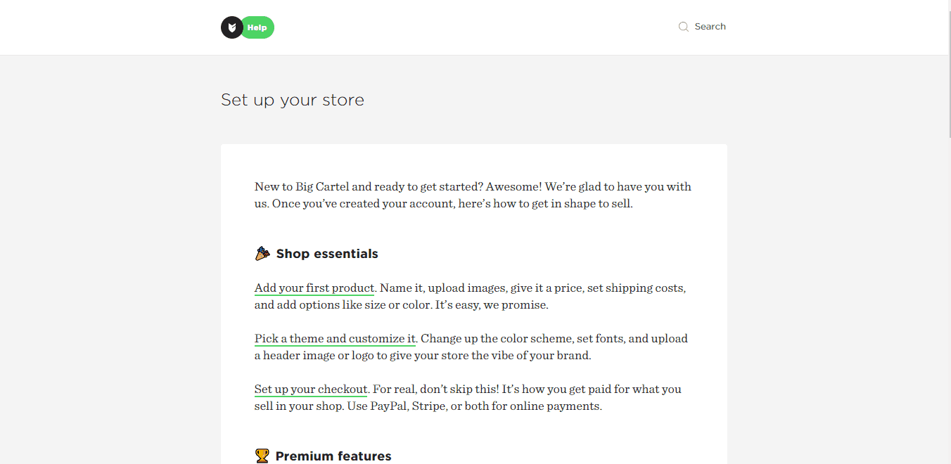 Big Cartel Review: The Ecommerce Platform For Artists
