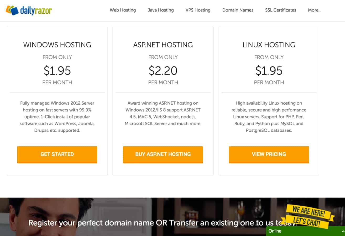 DailyRazor Hosting Review: Fast Servers But Are They
