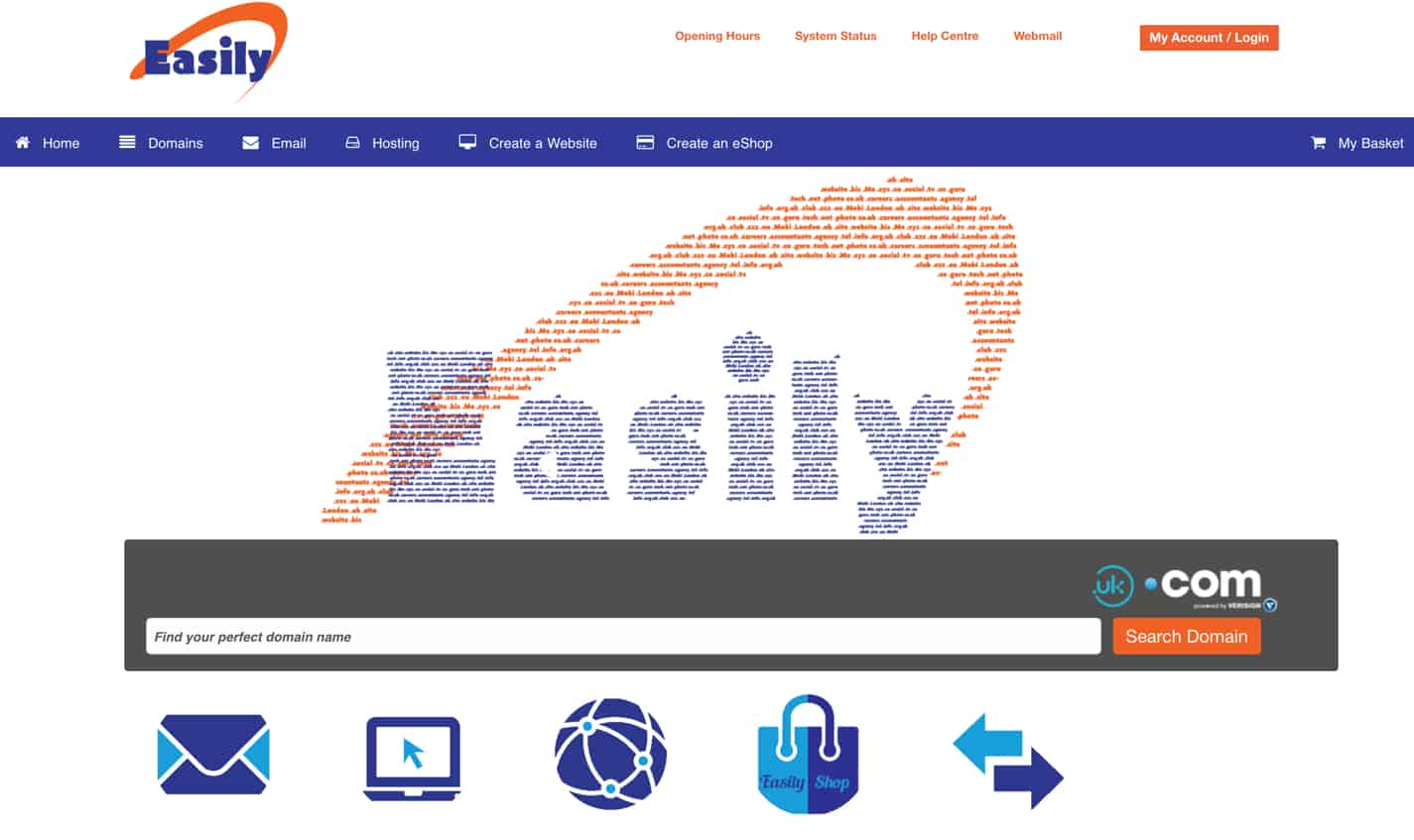 easily.co.uk review domain registration