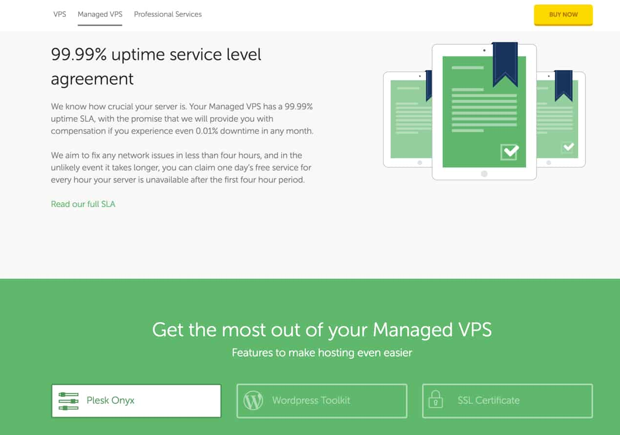 Heart Internet review uptime