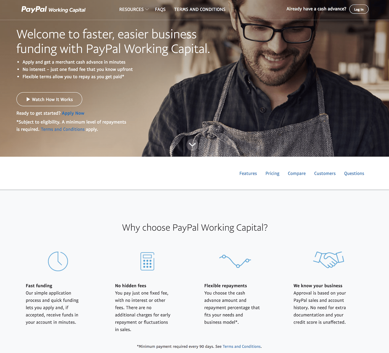 PayPal Working Capital