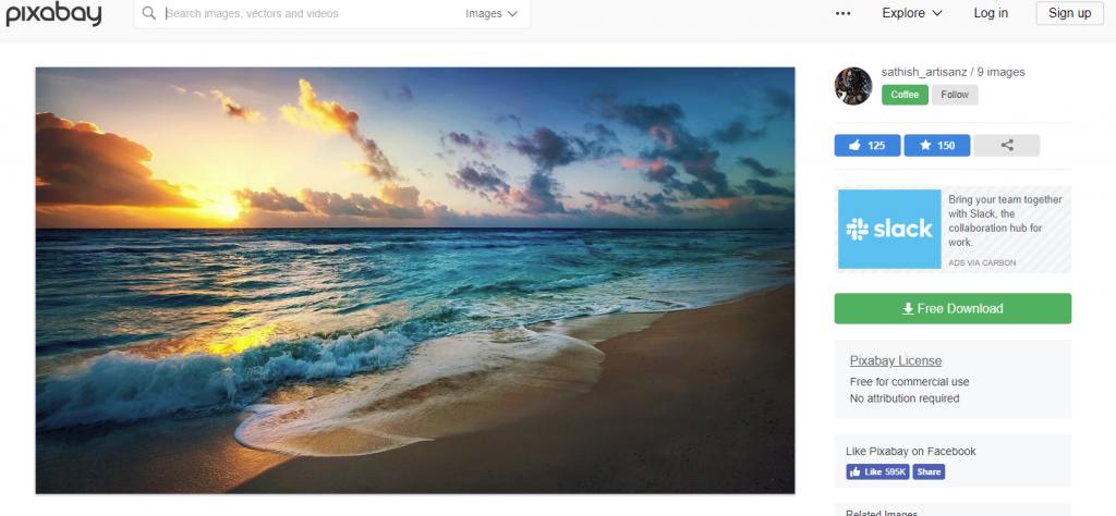 show pixabay stock photo site