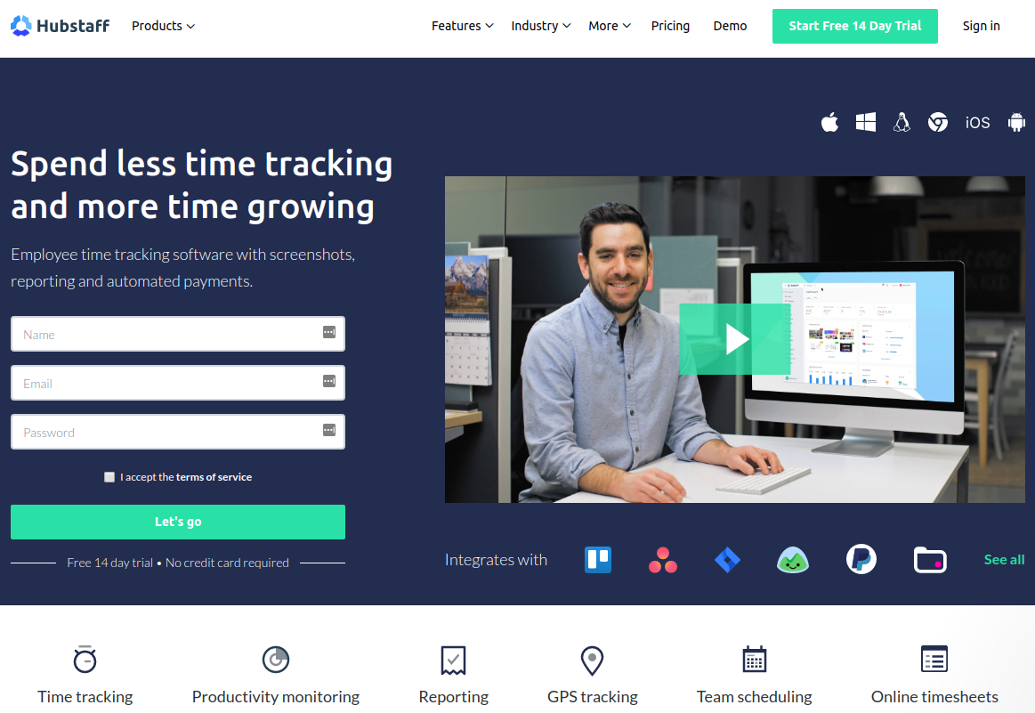 12 Best Time Tracking Software & Apps for 2019 - Digital com