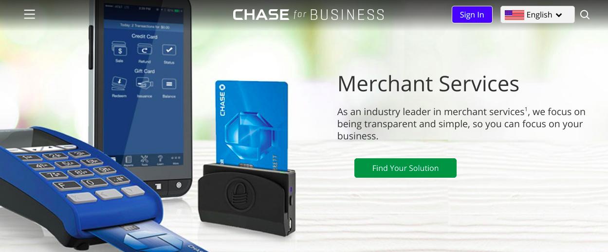 chase merchant servies