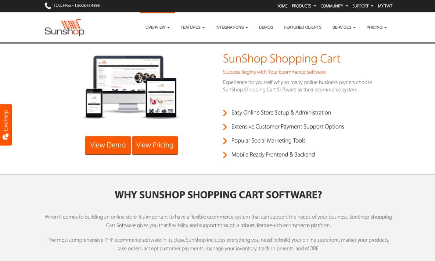 SunShop Shopping Cart review