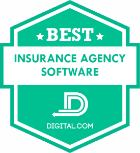 The Best Insurance Agency Software Badge