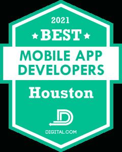 The Best Mobile Application Developers in Houston Badge