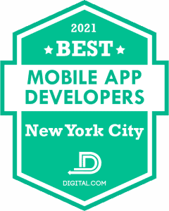 The Best Mobile Application Developers in New York City Badge