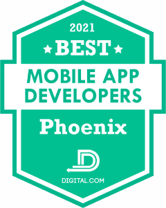 The Best Mobile Application Developers in Phoenix Badge