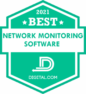 The Best Network Monitoring Software of 2021 Badge