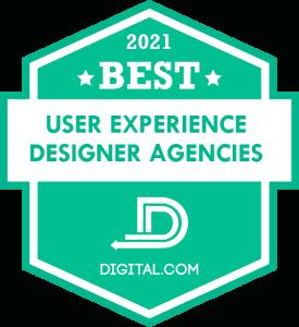 The Best User Experience Designer Agencies of 2021 Badge