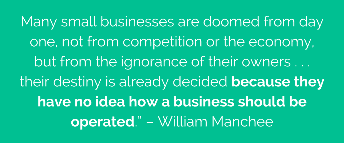 William Manchee quote