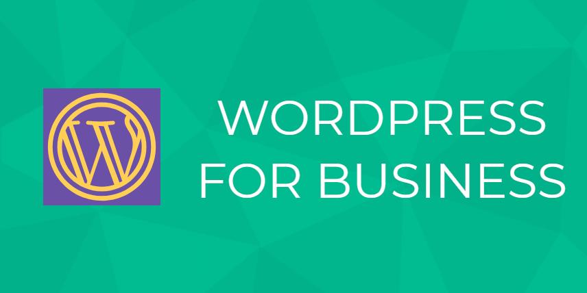 wordpress for business