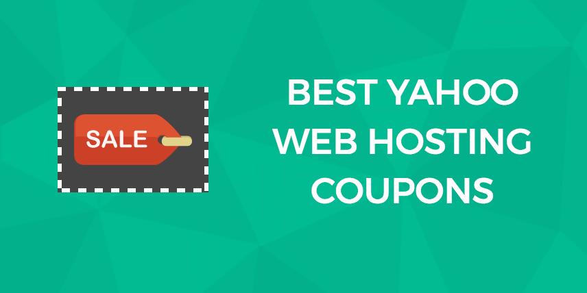 Yahoo Web Hosting Coupons