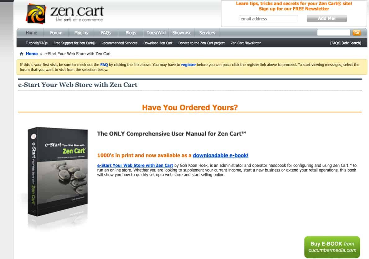 Zen Cart review