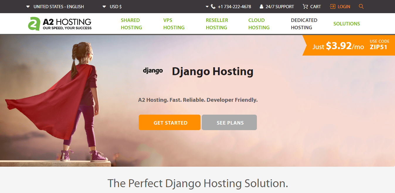 Django Hosting Reviews: Find The Best Choice For Building Your Web