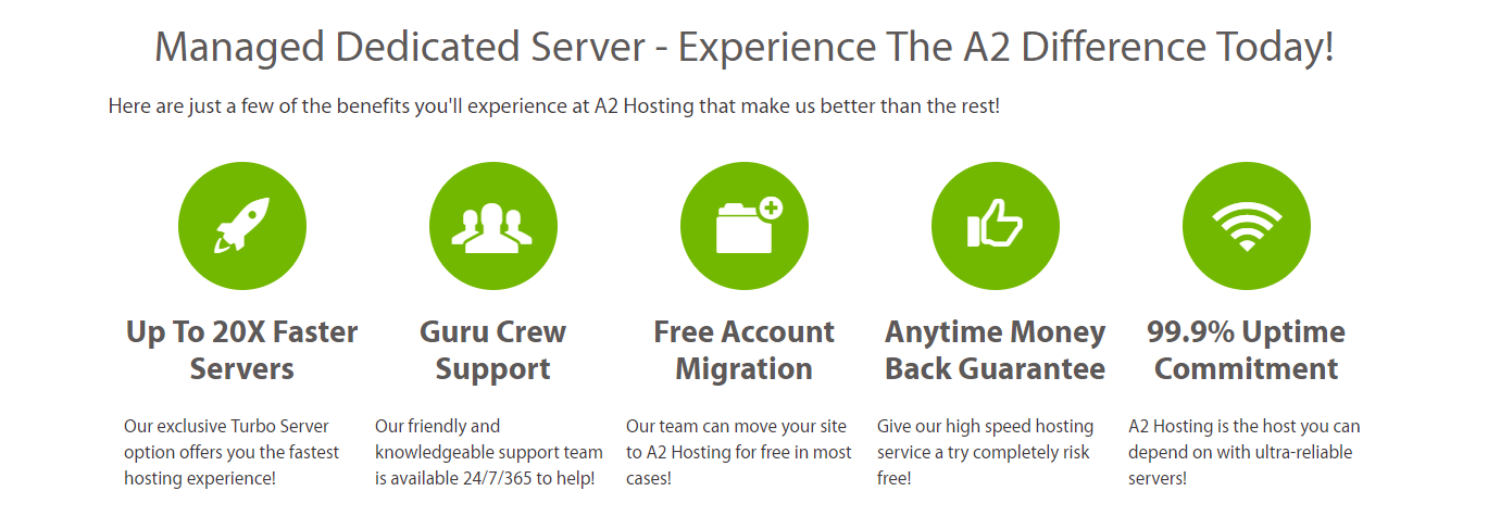A2 Hosting Dedicated Hosting