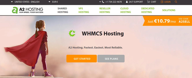 a2 hosting WHMCS
