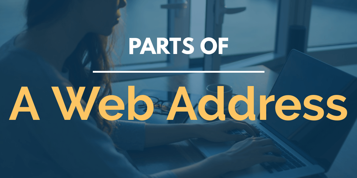 Parts of a web address