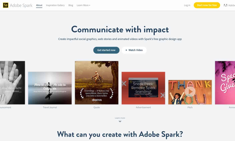 adobe spark review