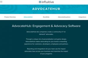 advocate hub homepage