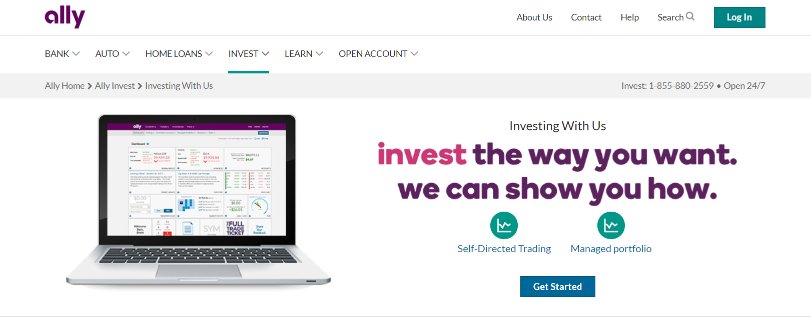 ally invest online stock trading