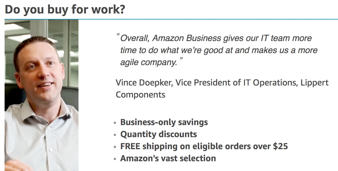 Quote from Business Buyer