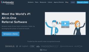 ambassador homepage