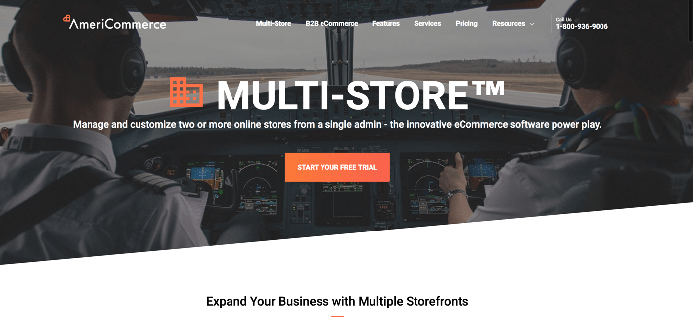 americommerce-multi-store