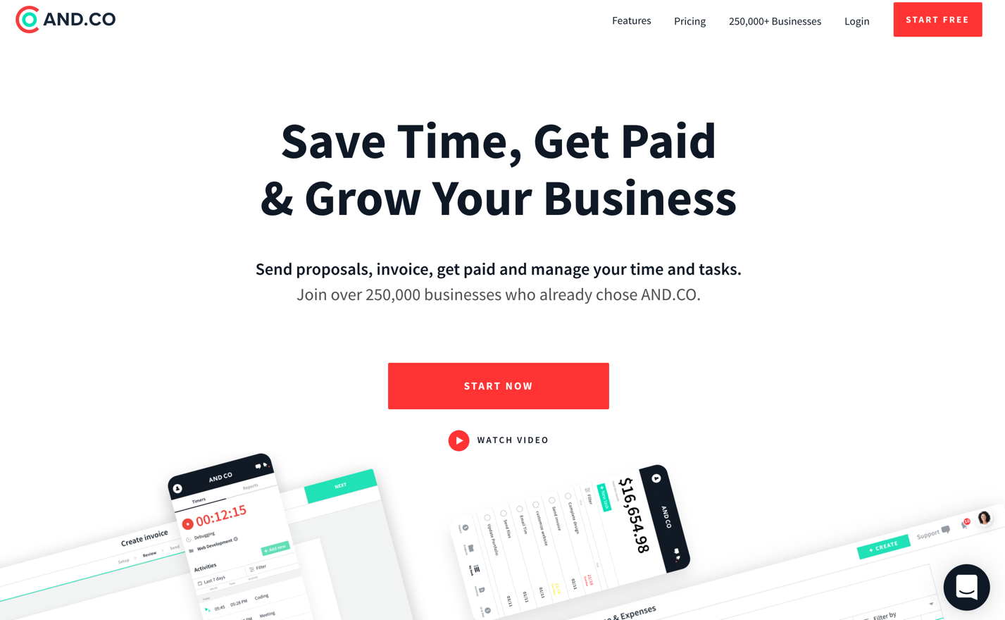 andco homepage