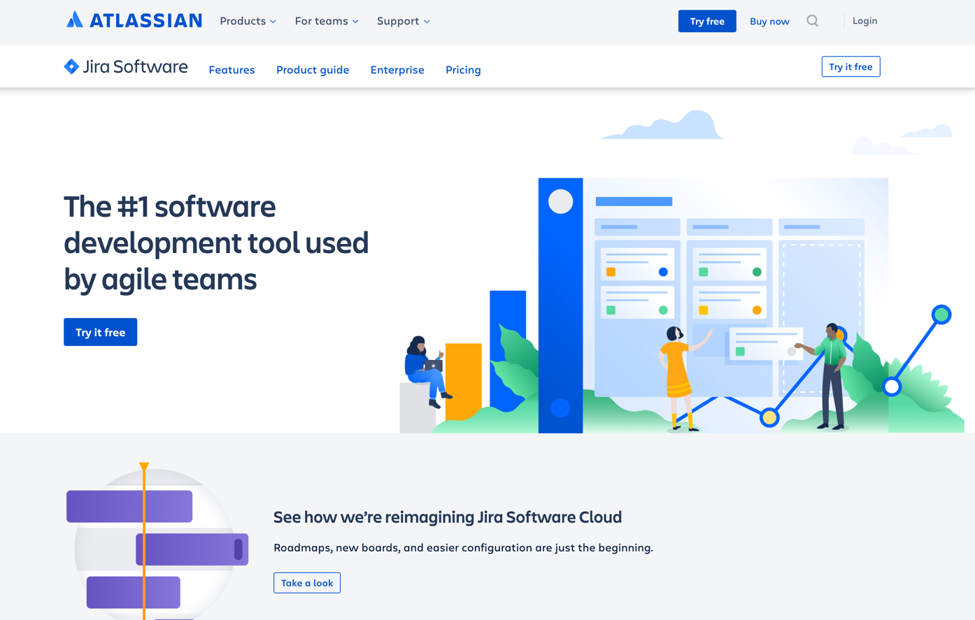 atlassian homepage