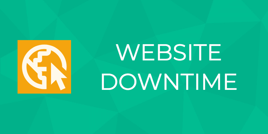 website downtime