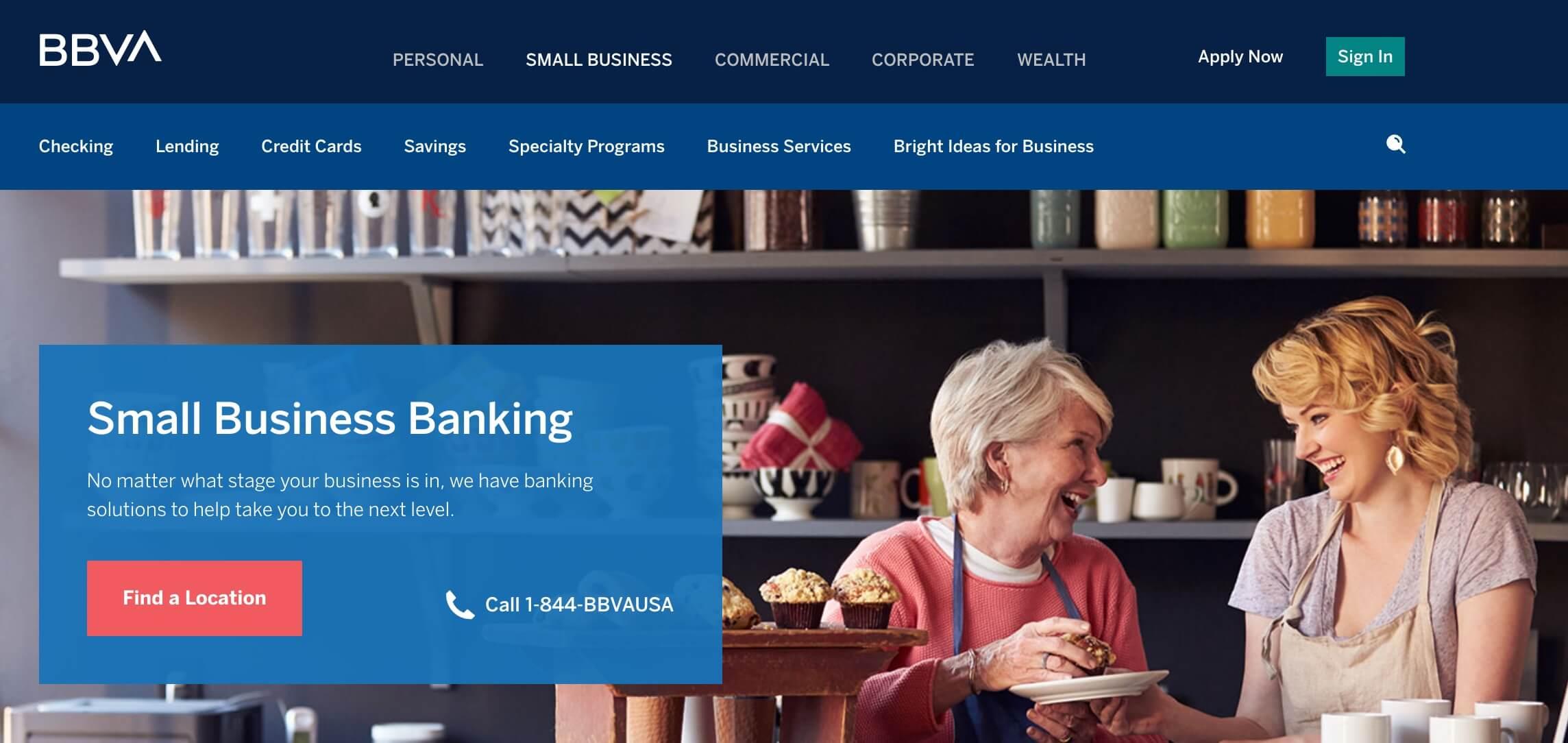 BBVA business banking