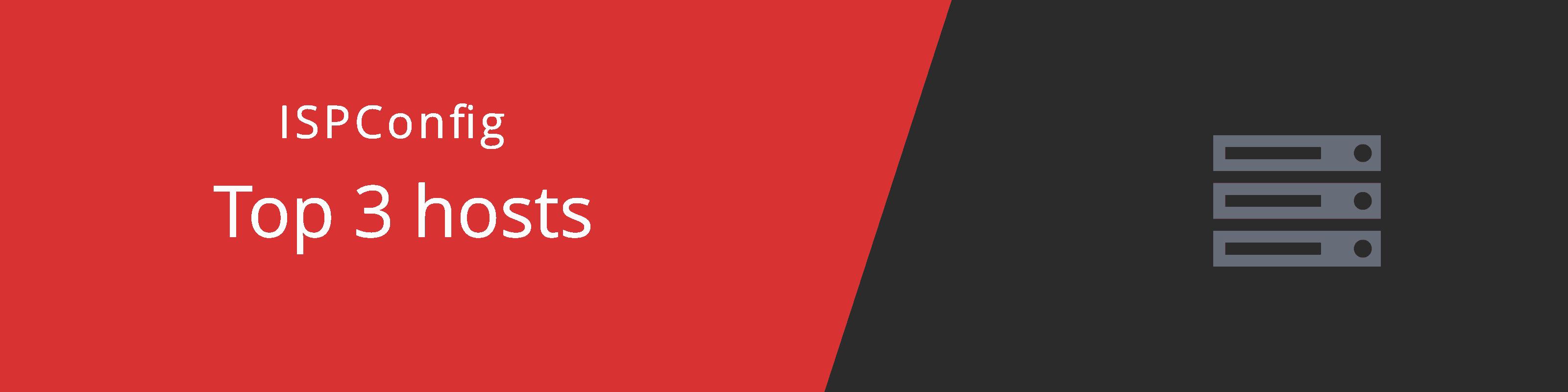 best ispconfig hosts