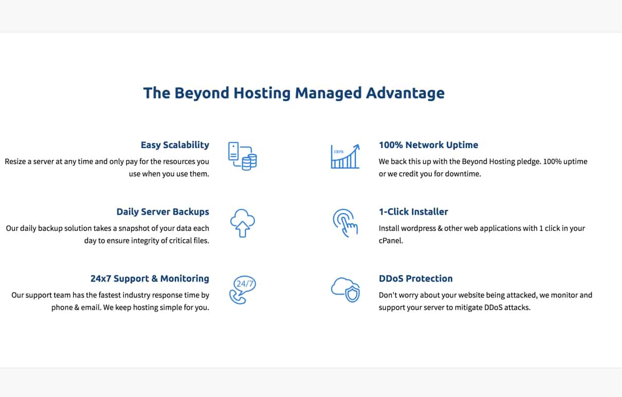 Beyond Hosting review