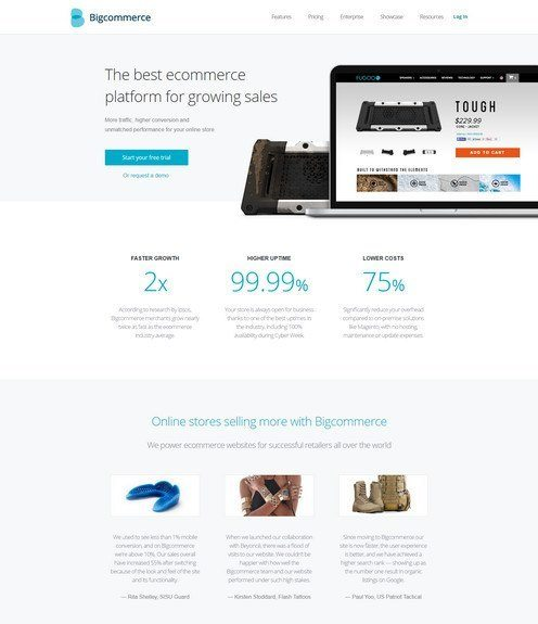 Bigcommerce reviews