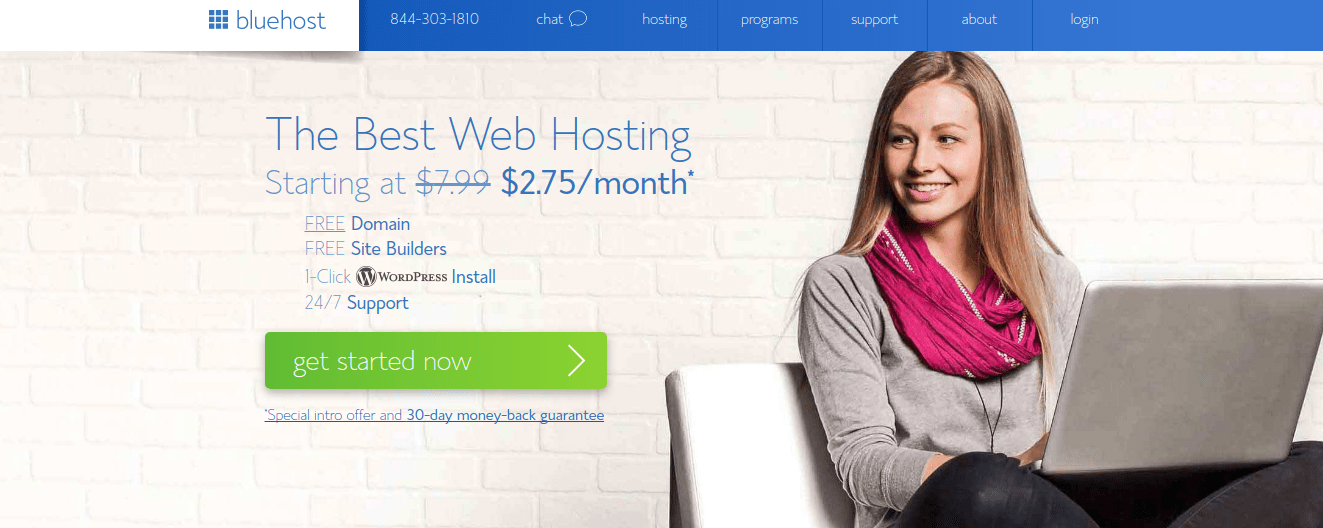 BlueHost Free Domain Hosting
