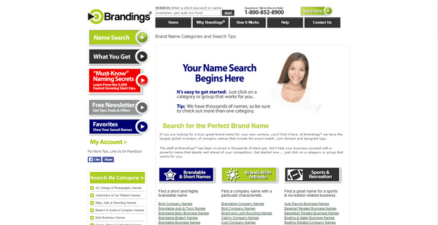 Brandings business name generator