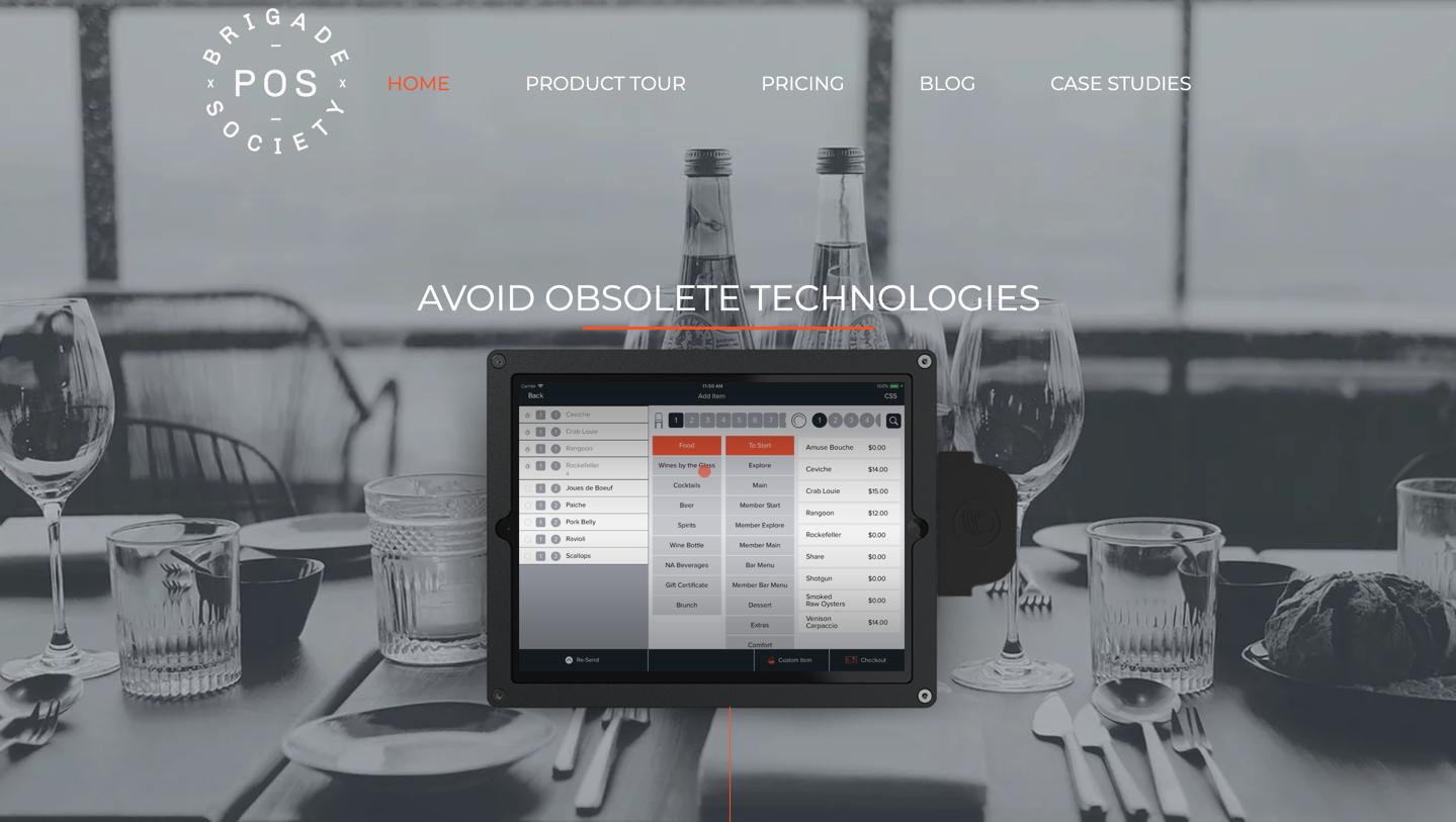 brigadesociety homepage